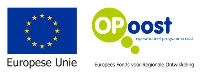 EU and OP Oost logo