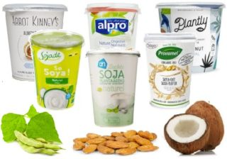 Rich choice in plant yogurts